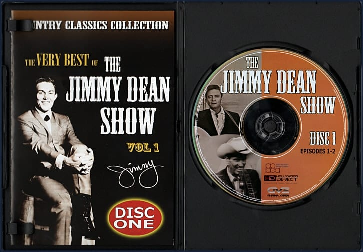 DVD - Slim Case Inside - Jimmy Dean 727